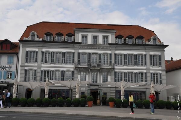 """Отель """"Англетер"""", в котором останавливался Лорд Байрон"""
