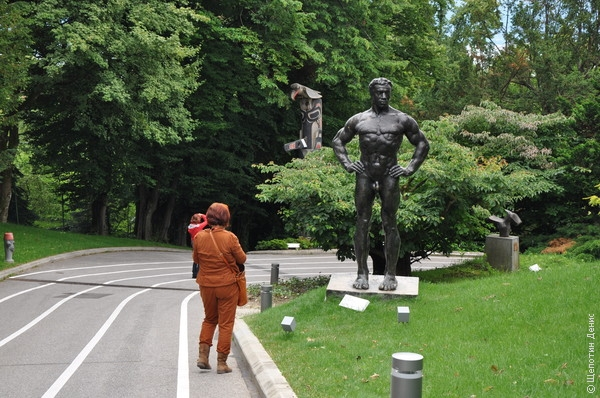 Парк Олимпийского музея