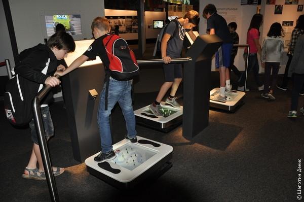 Интерактива в Олимпийском музее немного, но он есть