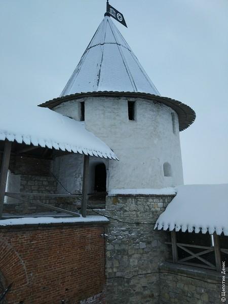Юго-Западная башня Казанского кремля