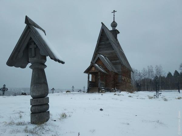 Кресты - новодел, но погост настоящий